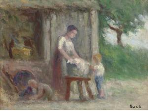 Maximilien Luce - Wash Day