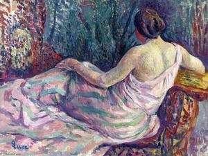 Maximilien Luce - Woman from Behind