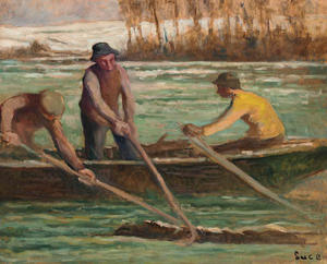 Maximilien Luce - Wood collectors