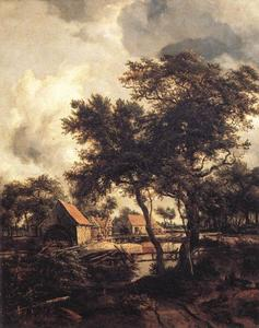 Meindert Hobbema - The Water Mill 1