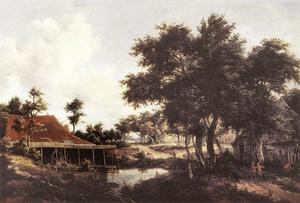 Meindert Hobbema - The Water Mill 2