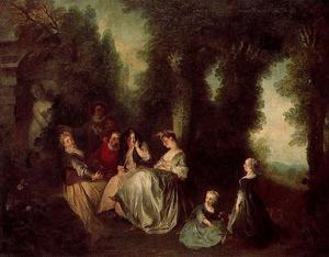 Nicolas Lancret - Garden party