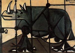 Oscar Dominguez - Rhino (Self Portrait)