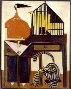 Oscar Dominguez - The Cat and the Canary