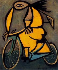 Oscar Dominguez - Yellow Bike