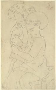 Otto Dix - Child with Doll