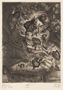 Otto Dix - Dying soldier