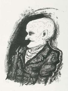 Otto Dix - Old man
