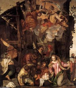 Paolo Veronese - Adoration of the Shepherds