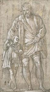 Paolo Veronese - Giuseppe da Porto and his son Adriano