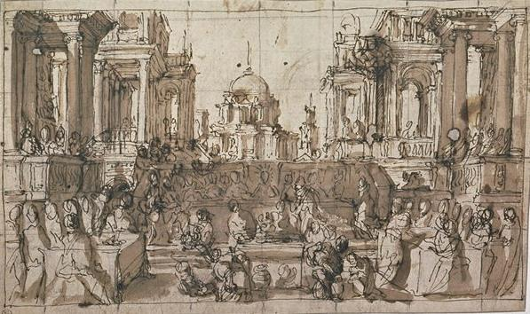 Order Art Reproductions | The Wedding at Cana by Paolo Veronese (1528-1588, Italy) | WahooArt.com