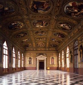 Paolo Veronese - View of the Biblioteca Marciana