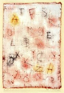 Paul Klee - A B C for a Muralist