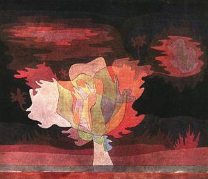 Paul Klee - Before the snow
