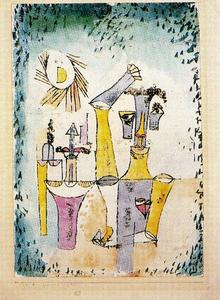 Paul Klee - Black Magician