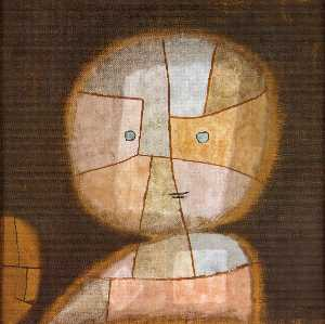Paul Klee - Bust of a child