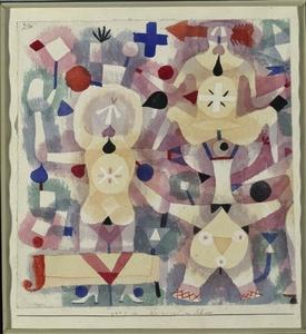 Paul Klee - Carnival in the Snow