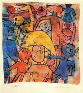 Paul Klee - Colourful Group