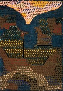 Paul Klee - Evening in the Valley