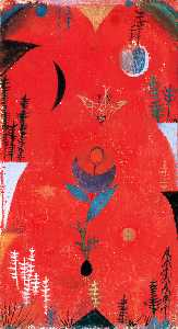 Paul Klee - Flower myth