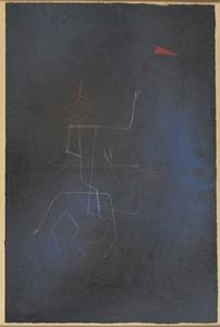 Paul Klee - Ghost Rider Late in the Evening