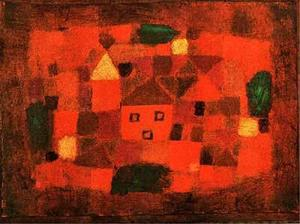 Paul Klee - Landscape at Sunset