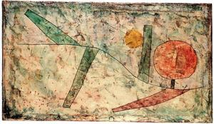 Paul Klee - Landscape in the Beginning
