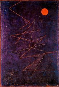Paul Klee - Multicolor ray