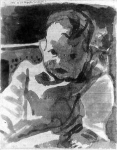 Paul Klee - Portrait of a Boy