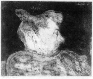 Paul Klee - Portrait of pregnant woman