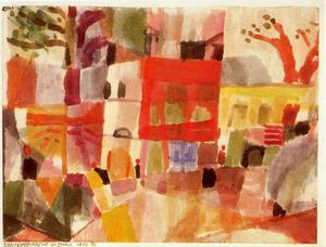 Paul Klee - Red and Yellow Houses in Tunis