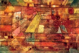 Paul Klee - The Festival of the Asters