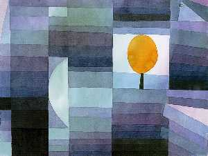 Paul Klee - The messenger of autumn
