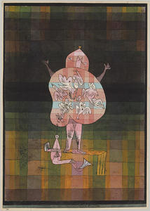 Paul Klee - Ventriloquist and Crier in the Moor