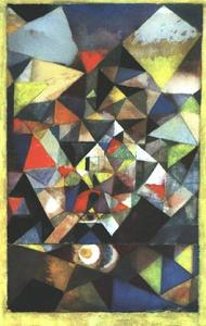 Paul Klee - With the Egg