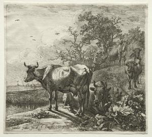 Paulus Potter - The Cowherd