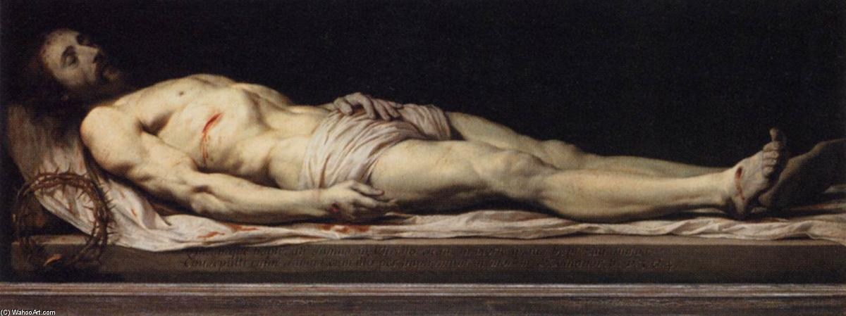 The Dead Christ, Oil On Canvas by Philippe De Champaigne (1602-1674, Netherlands)