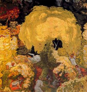 Pierre Bonnard - Autumn. Harvest