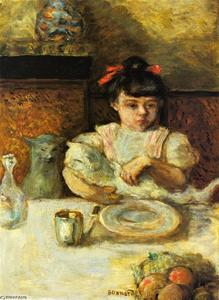 Pierre Bonnard - Child and Cats