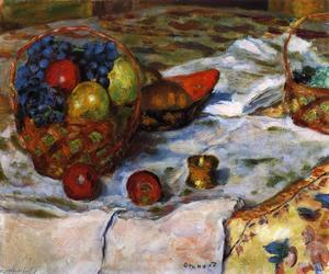 Pierre Bonnard - Still LIfe with Earthenware Dish