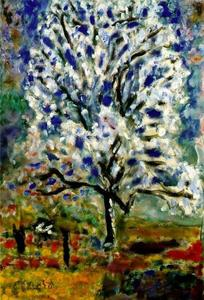 Pierre Bonnard - The Almond in Blossom