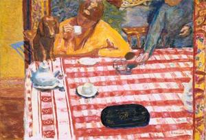 Pierre Bonnard - The coffee