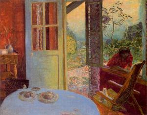 Pierre Bonnard - The Dining Room in the countryside