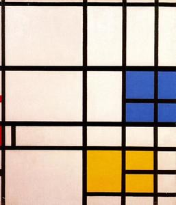 Piet Mondrian - Composition London