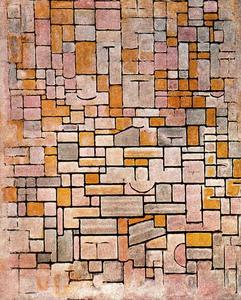 Piet Mondrian - Composition no. 7