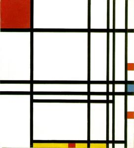 Piet Mondrian - Composition No. 8