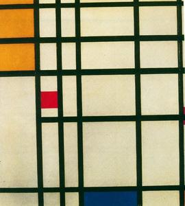 Piet Mondrian - Composition with red, yellow and blue 1