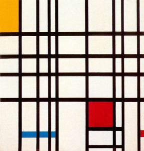 Piet Mondrian - Composition with Red, Yellow and Blue