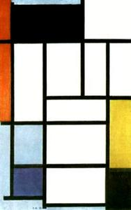 Piet Mondrian - Composition with Red. Yellow and Blue