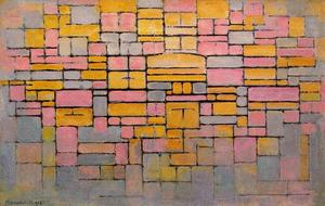 Piet Mondrian - Composition, V